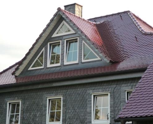 Ziegeldach Dachformen